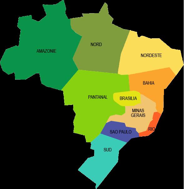 Selectionnez La Region Qui Vous Interesse Sur Carte Interactive