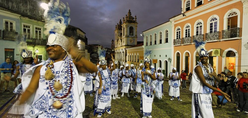 Salvador carnival bloc fils de Gandhi