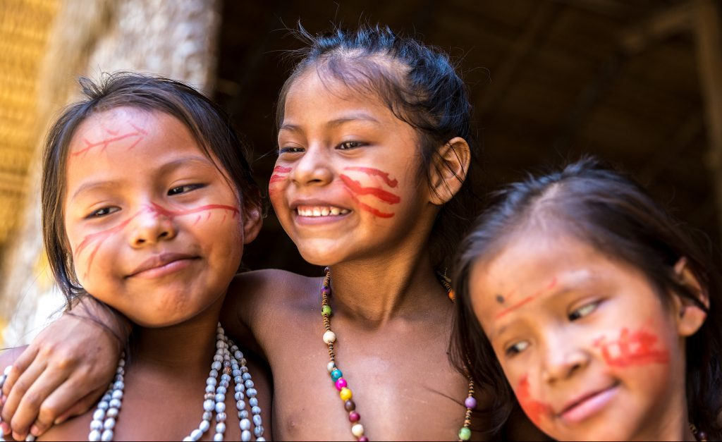 Amazonie enfants indiens