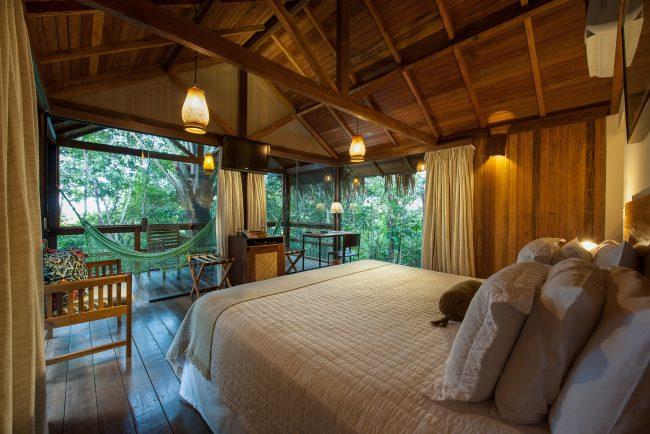 Anavilhanas hébergement coeur Amazonie