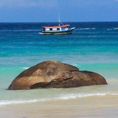 barque ilha Grande Brésil