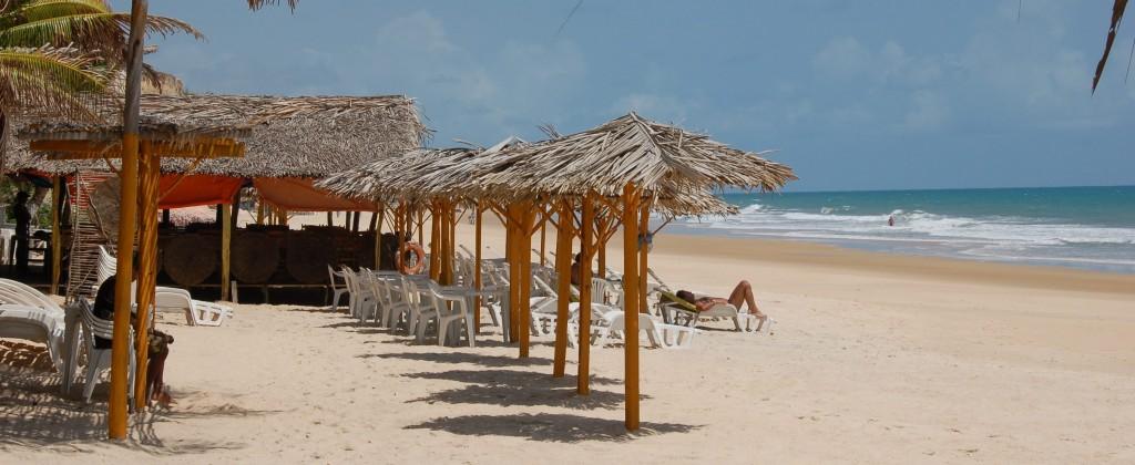 barraques plage de Pipa