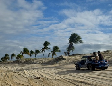 buggy plage de Cumbuco