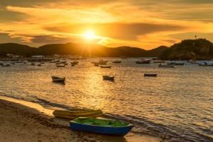 Buzios coucher de soleil sur le port