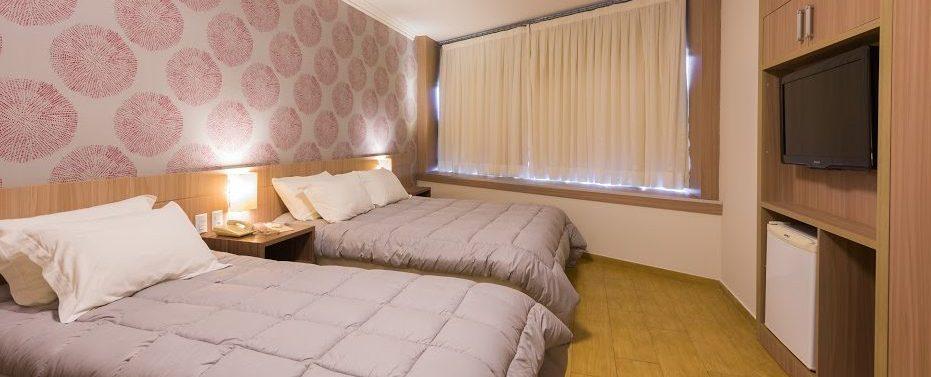 Chambre 2 lits continental Inn Iguaçu