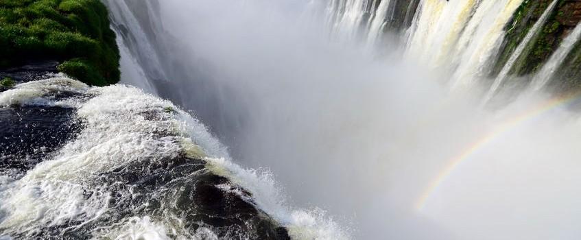Chutes d'Iguaçu arc-en-ciel Brésil