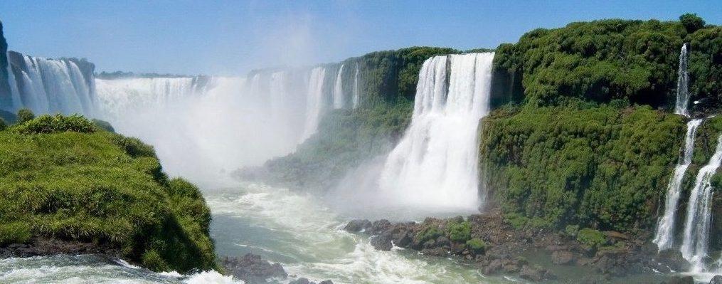 chutes d'Iguaçu de prés