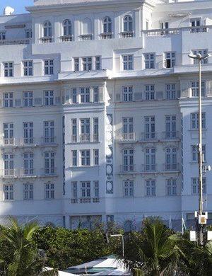 Copacabana Palace de face