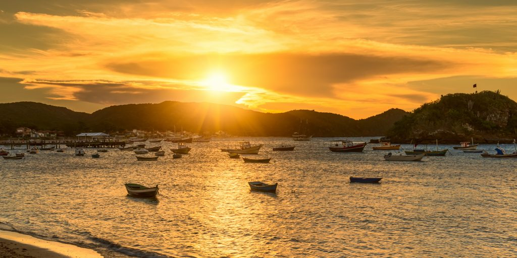 coucher de soleil Ilha Grande