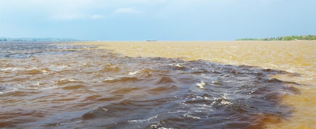 Croisière Amazone Rencontre des eaux