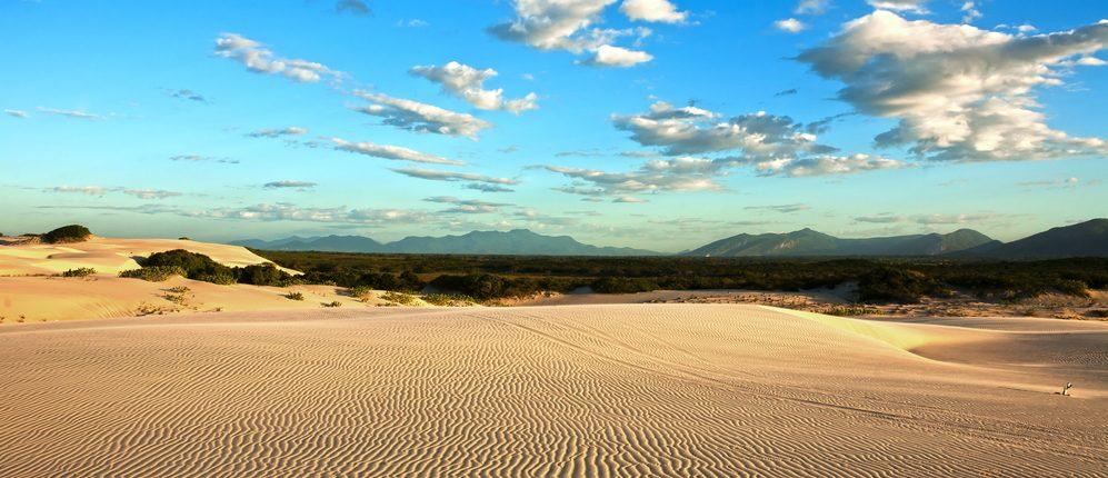 Cumbuco vision panoramique dunes