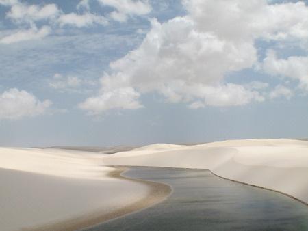 Dunes Lençois Maranhenses Brésil