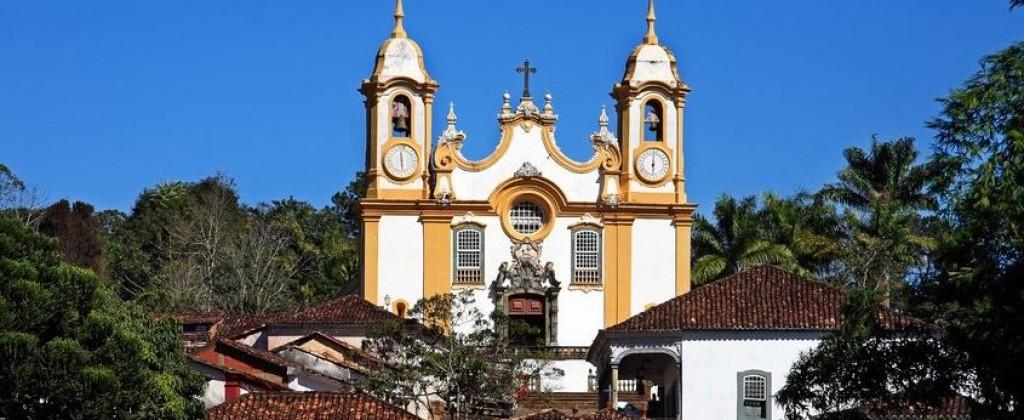 Eglise Tiradente Minas Gerais