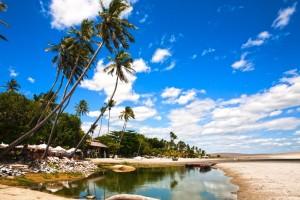 Fameuse plage de Jericoacoara