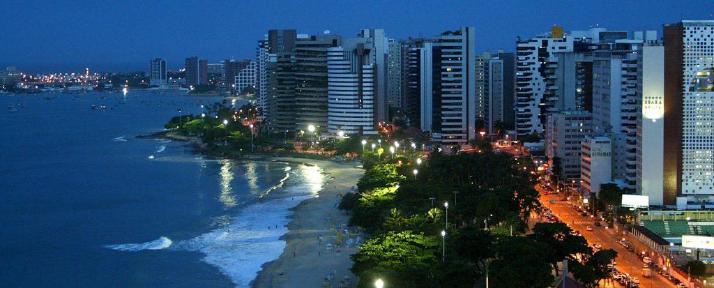 Fortaleza le marché de nuit