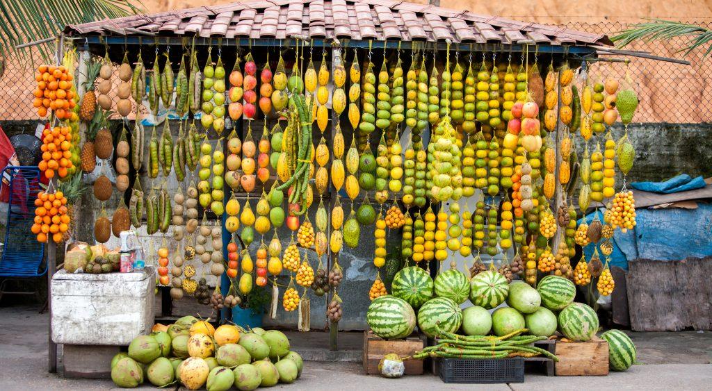 fruits marché Manaus