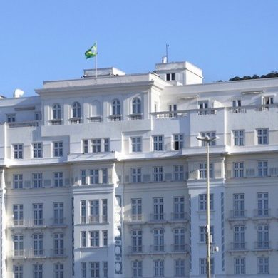 Hôtel Copacabana palace Rio de Janeiro