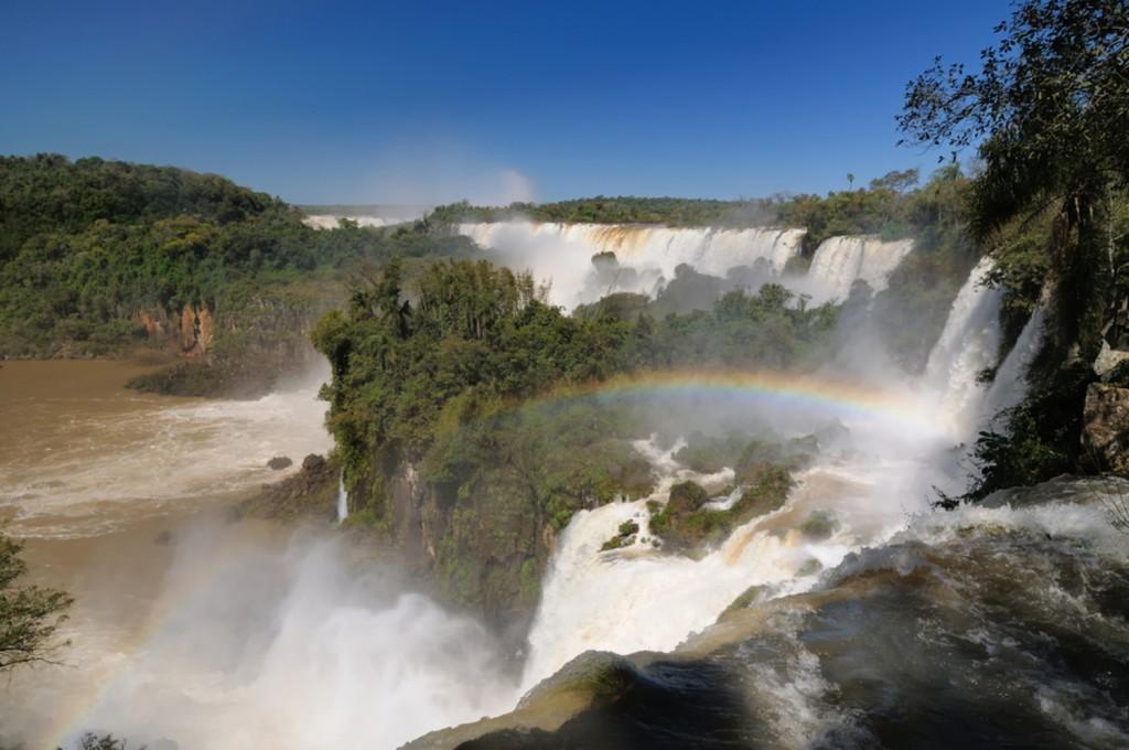 Iguaçu chutes brésiliennes
