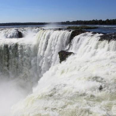 Iguaçu Garganta do diabo