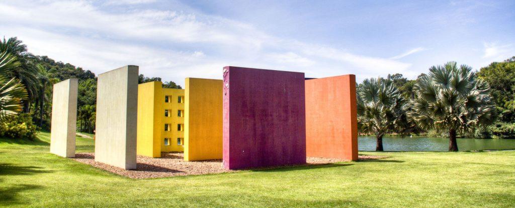 Inhotim sculpture du square magique