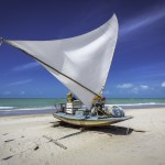 Jangada plage Nordeste Brésil