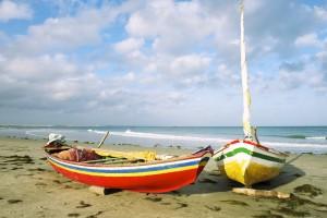 jangadas coloréees plage Nordeste