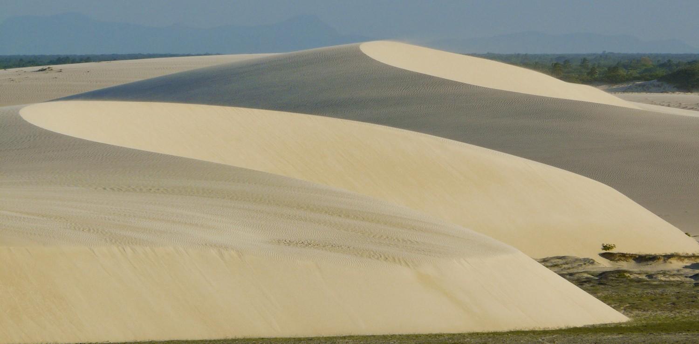 Jericoacoara dunes sculptées