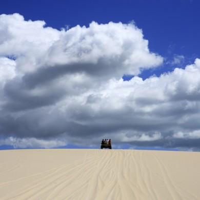 jericoaocoara buggy montant une dune