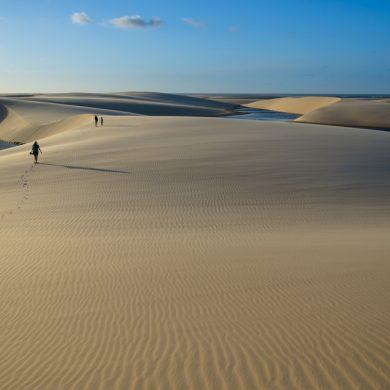 le desert des lençois Maranhenses trekking