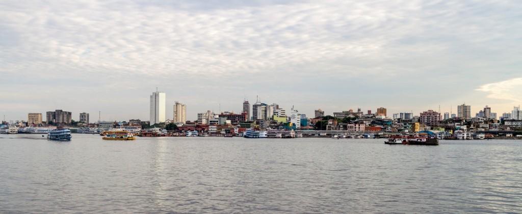 Manaus vue du fleuve