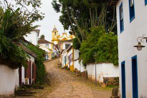 Minas Gerais Typique rue coloniale