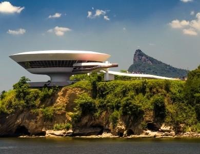 Musée d'art contemporain Niteroi Rio de Janeiro