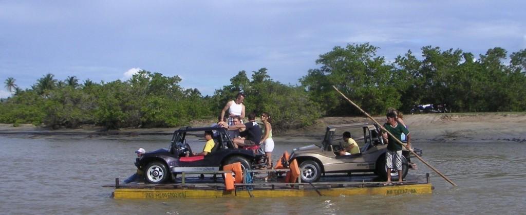 Nordeste buggy sur barge