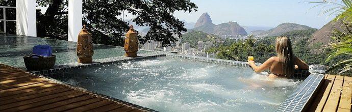piscine Altos de Santa Tereza Rio de Janeiro
