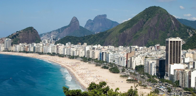 Plage de Copacabana Rio de Janeiro