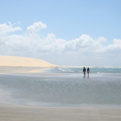 plage de rêve Jericoacoara