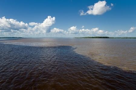 Rencontre des eaux Juma lodge