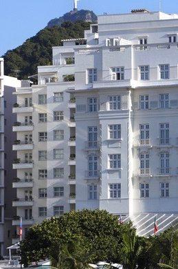 Rio Copacabana palace et corcovado
