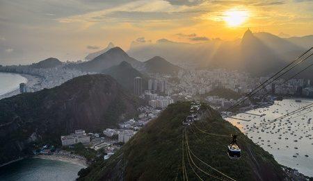 Rio de Janeiro coucher de soleil