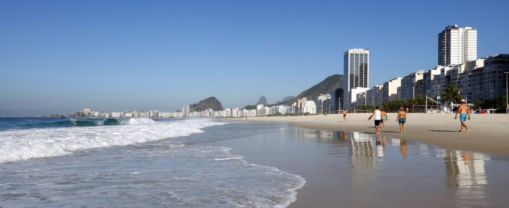 Rio de Janeiro plage Copacabana