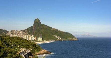 Rio de Janeiro vue de Sao Conrado