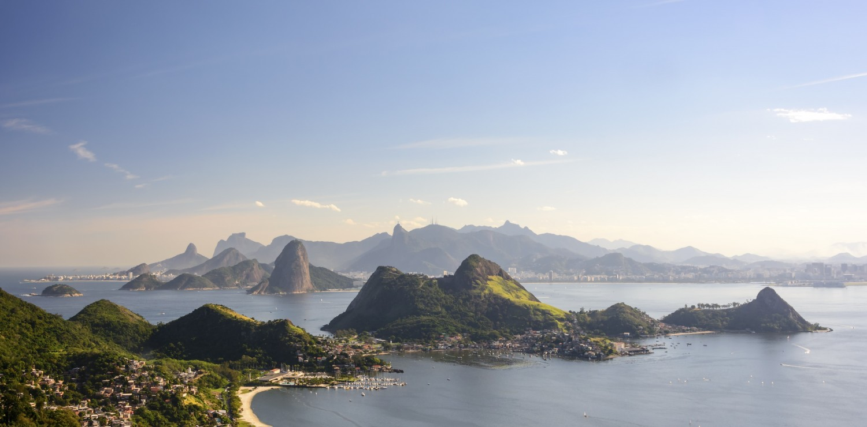 Rio de Janeiro vue depuis Niteroi
