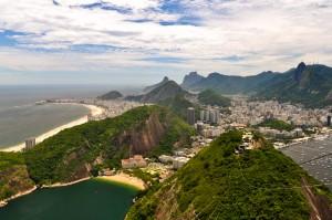 Rio de Janeiro vue téléphérique Pain de Sucre