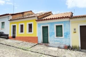 Sao Luis façades colorées