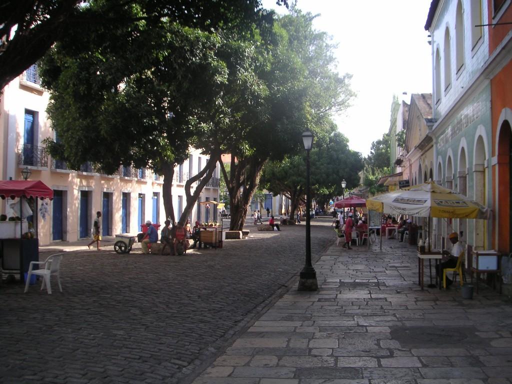 Sao Luis rue coloniale vieille ville