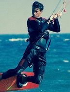 saut de kite surf