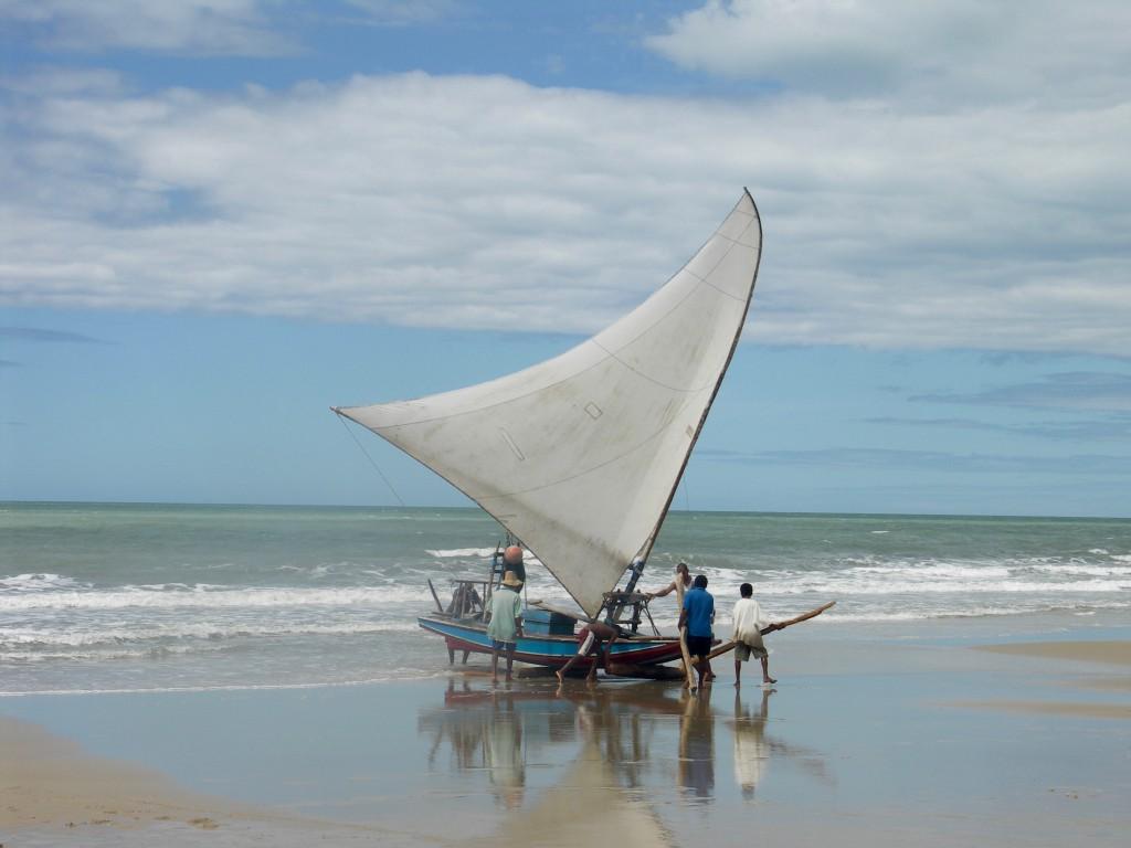 sortie de plage jangada plage Nordeste Brésil