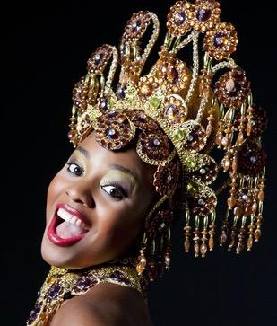 sourire mulata Carnaval Rio