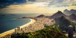 vue aérienne de Copacabana