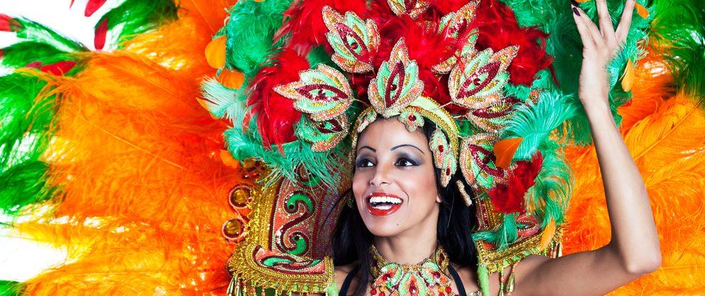 danseuse carnaval Brésil